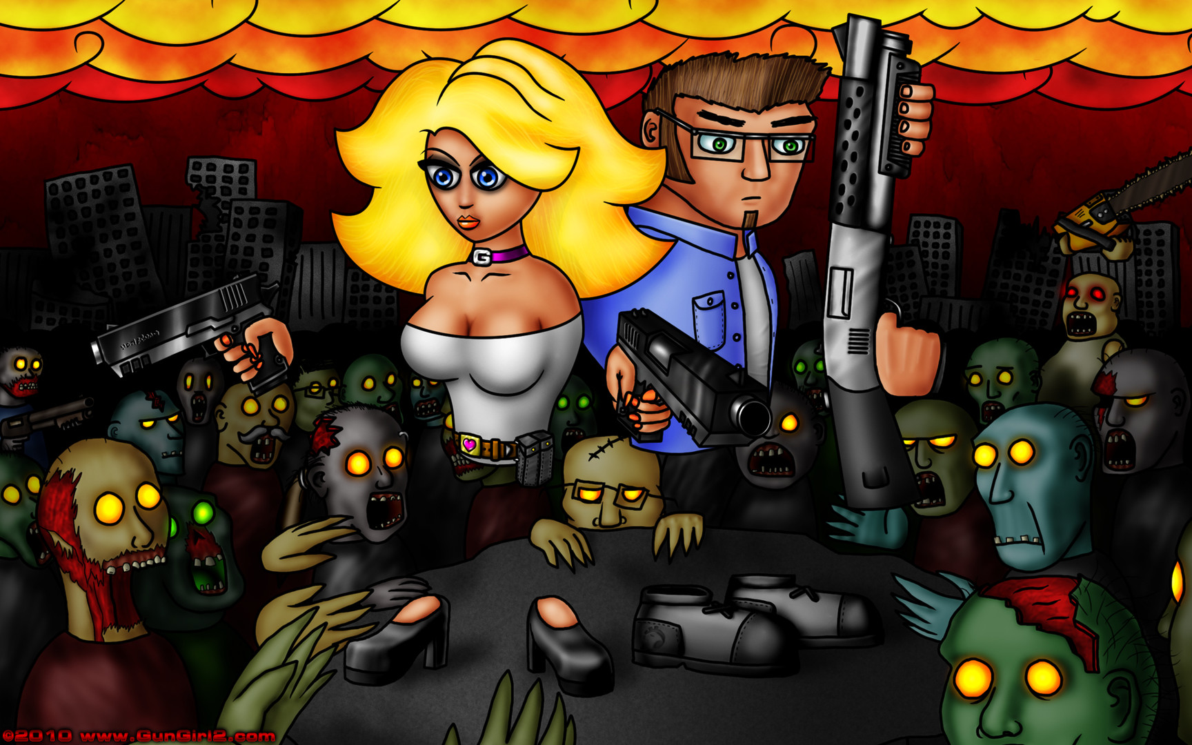 Play Gungirl2 for free