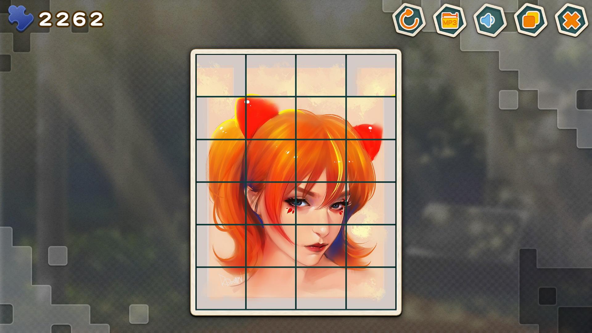 Claim Pleasure Puzzle:Portrait for free