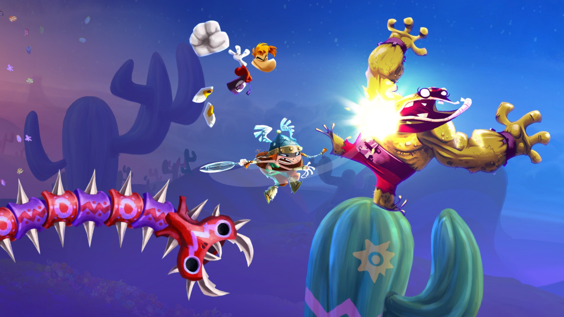 Claim Rayman Legends for free