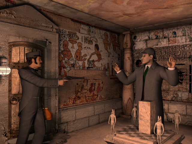 Play Sherlock Holmes: The Mystery of the Mummy for free