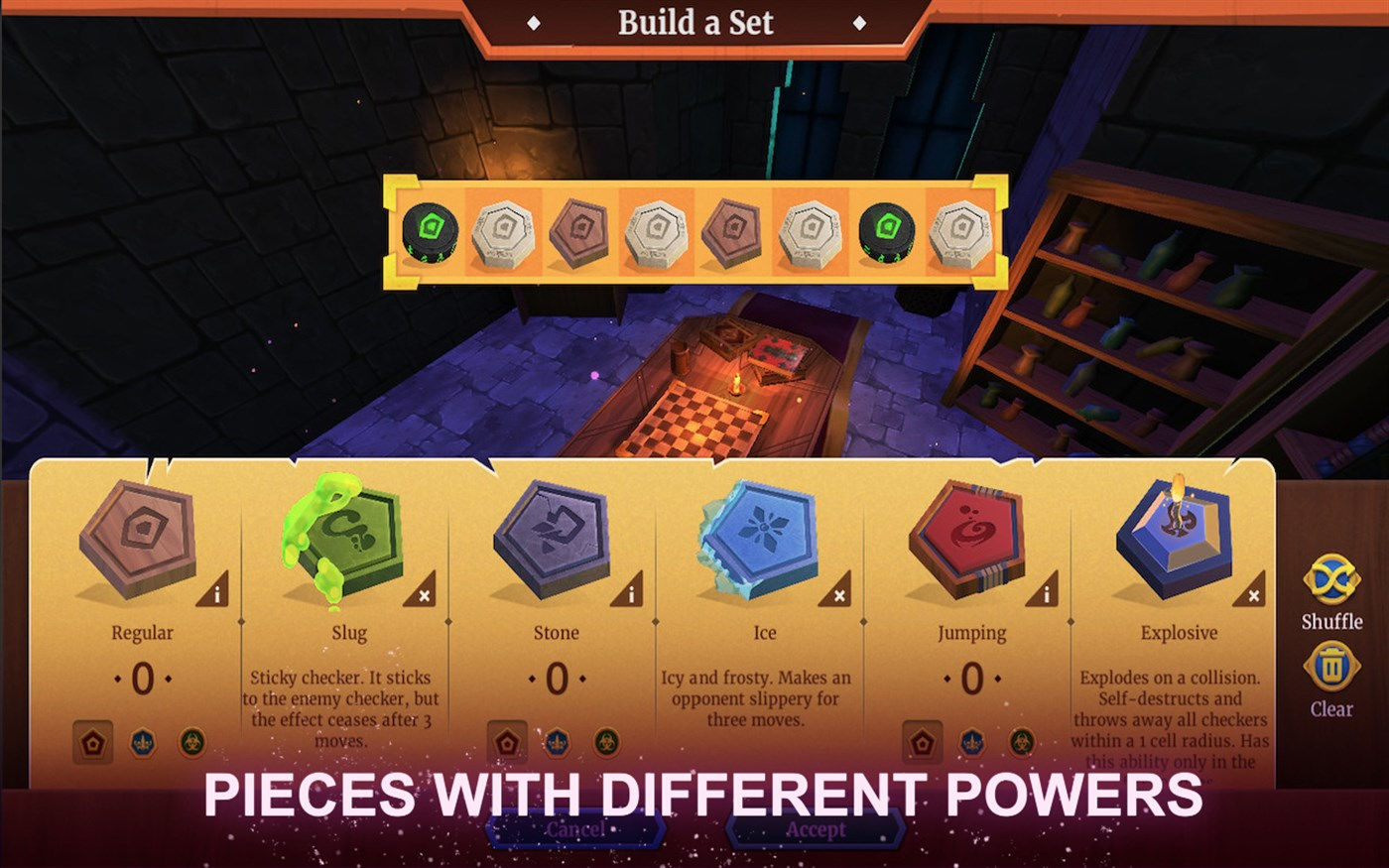 Claim Checkers Magic Battle for free