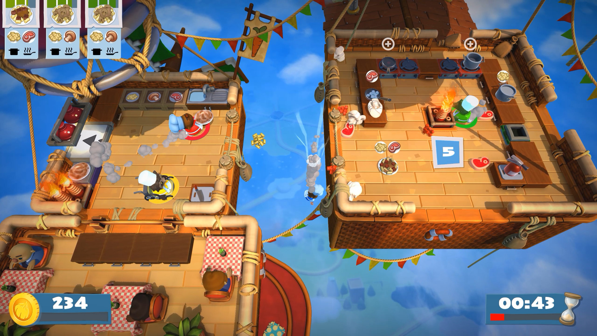 Claim DLC for Overcooked! 2 for free