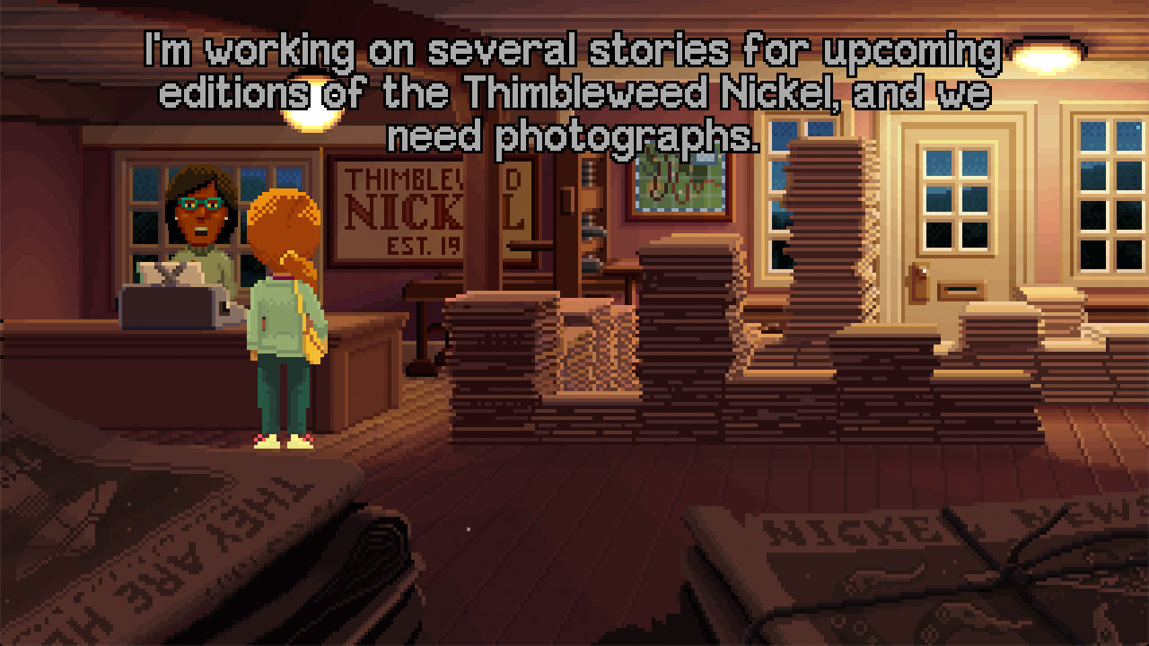 Play Delores: A Thimbleweed Park Mini-Adventure for free