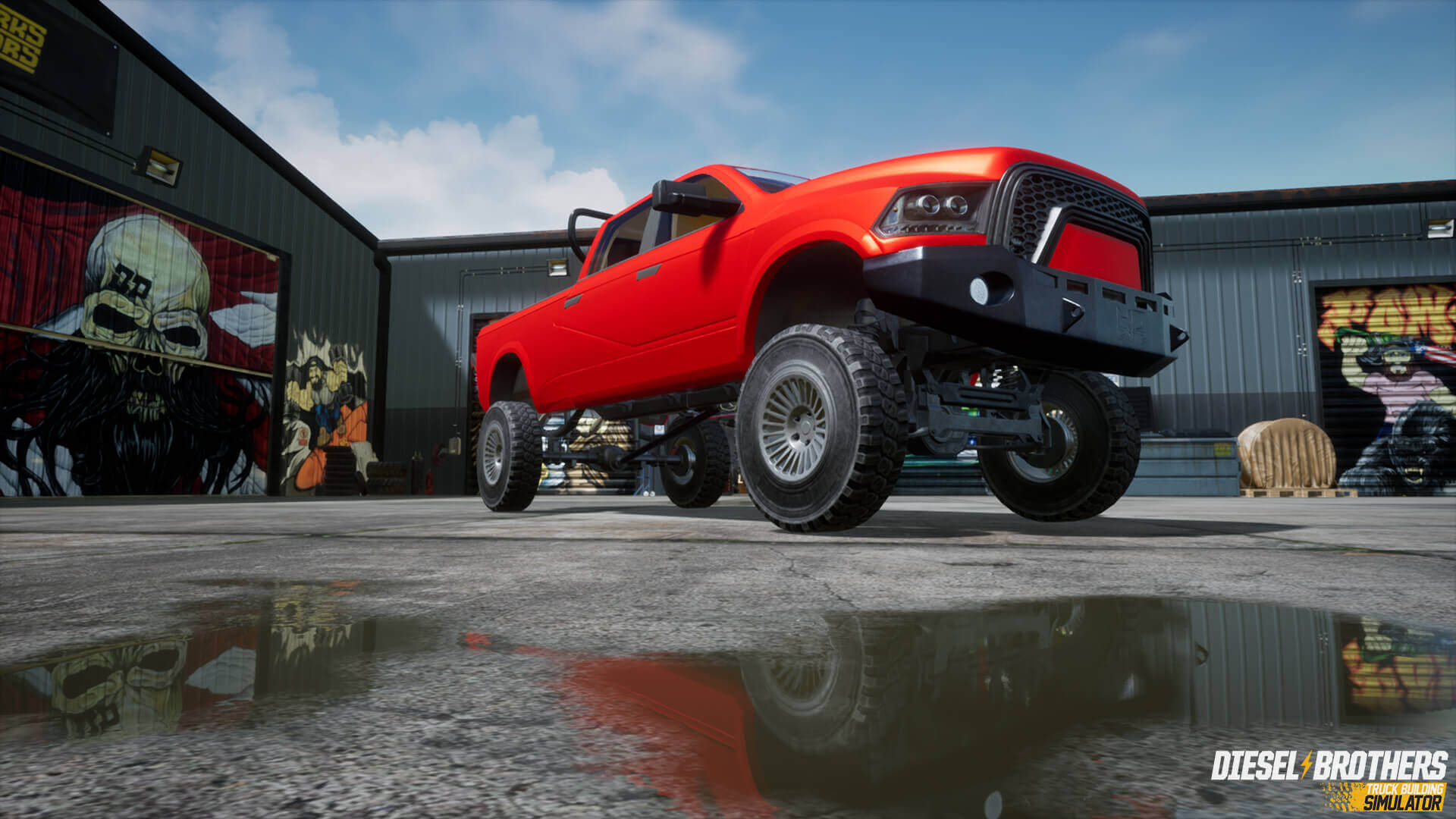 Play Diesel Brothers Truck Building Simulator Editor for free
