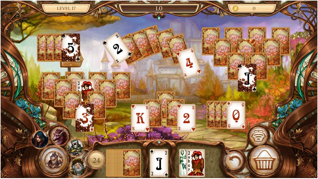 Claim Snow White Solitaire. Charmed Kingdom for free