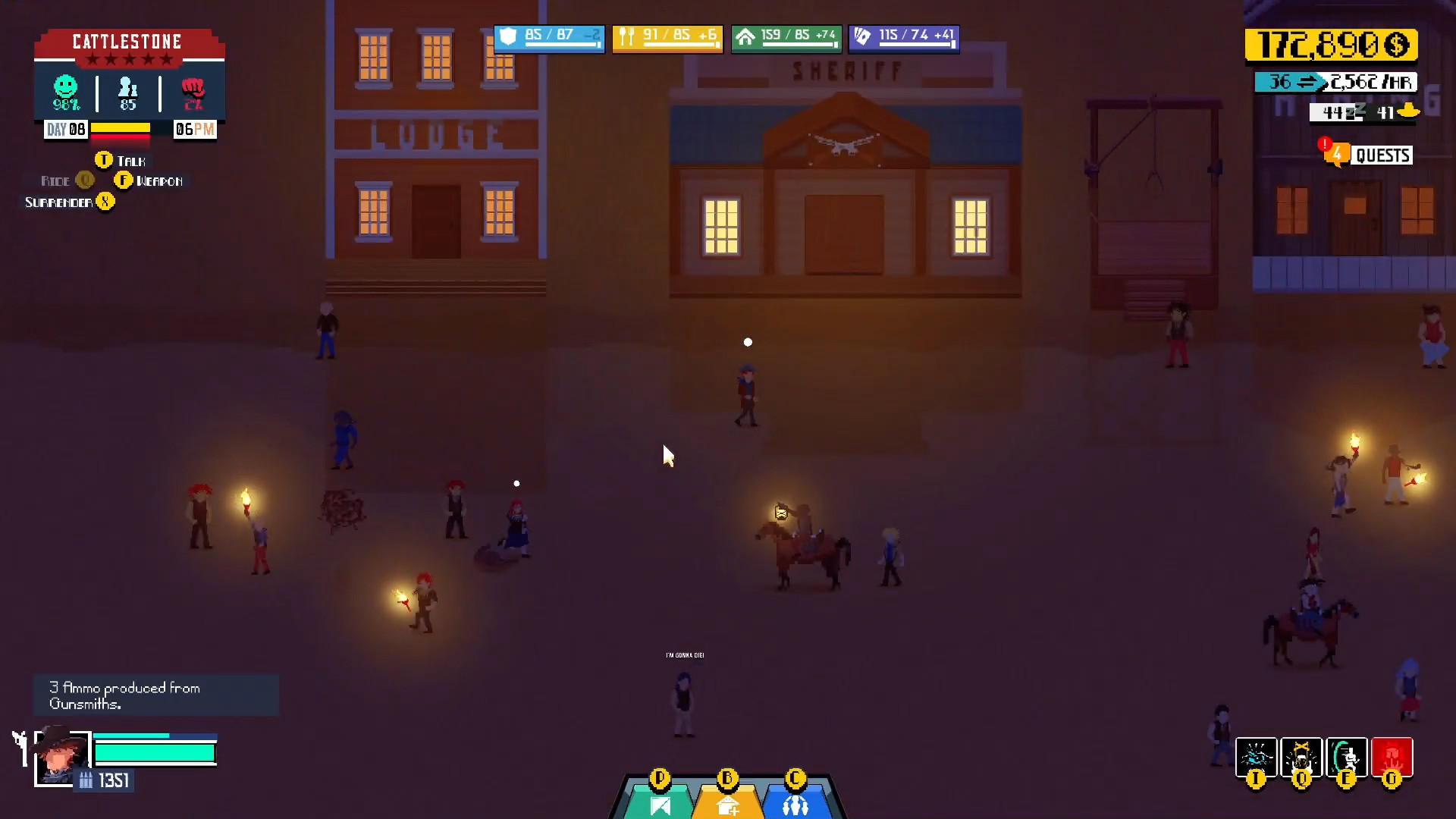 Play Gunman And The Witch for free