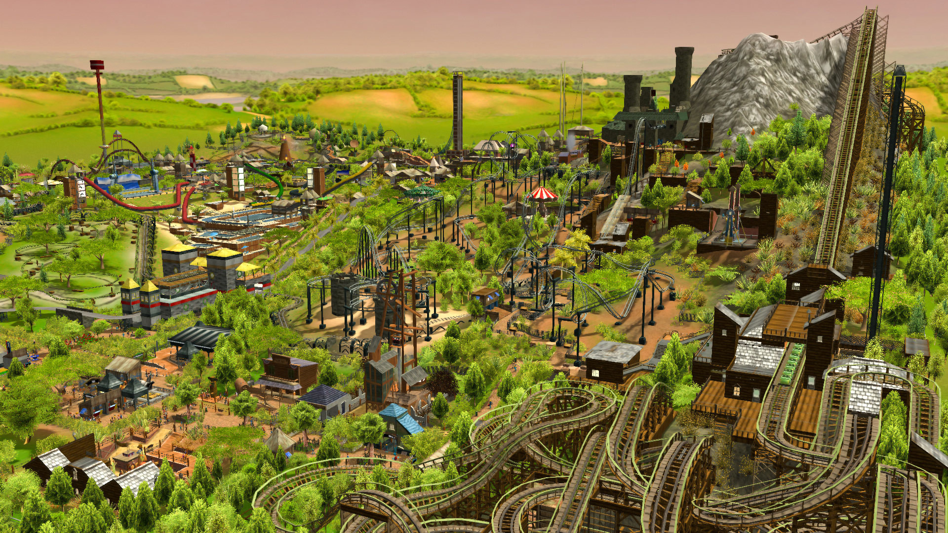 Claim RollerCoaster Tycoon 3 Complete Edition for free