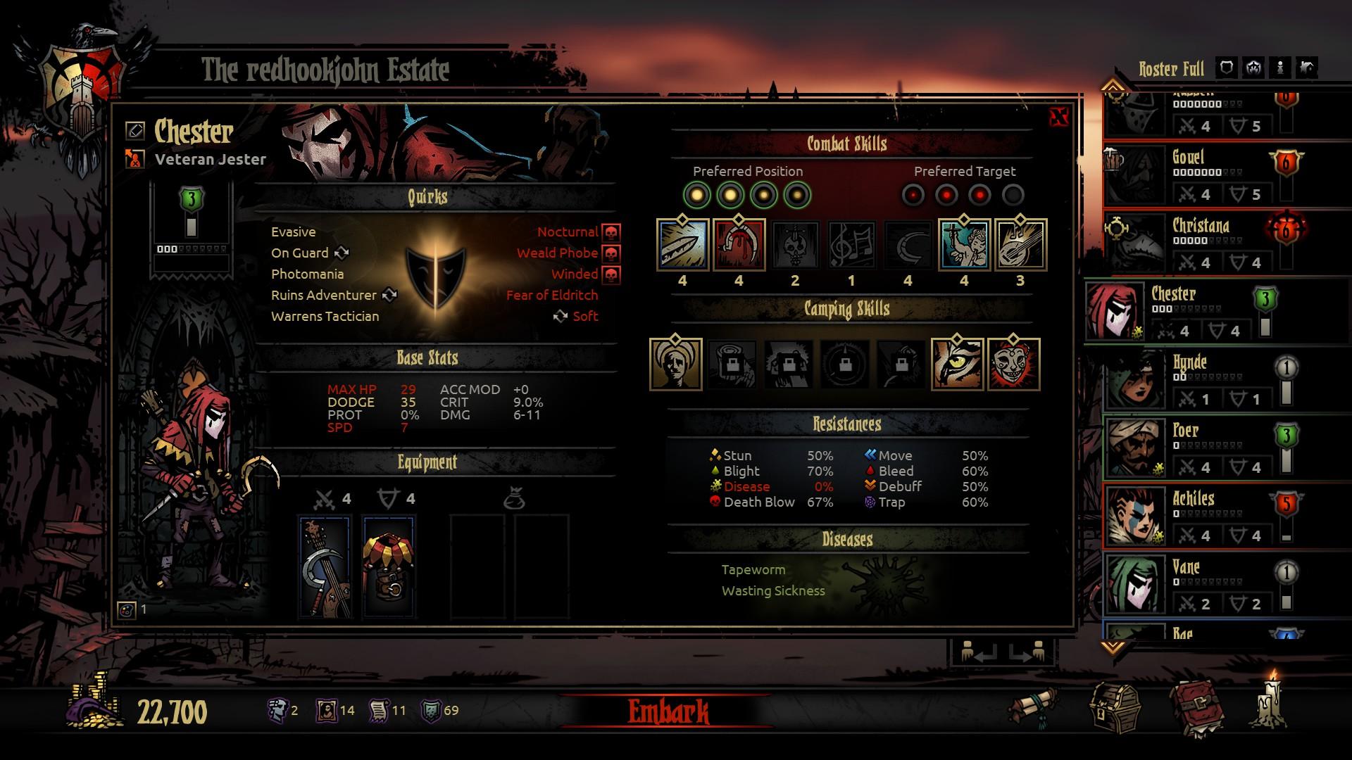 Claim Darkest Dungeon for free