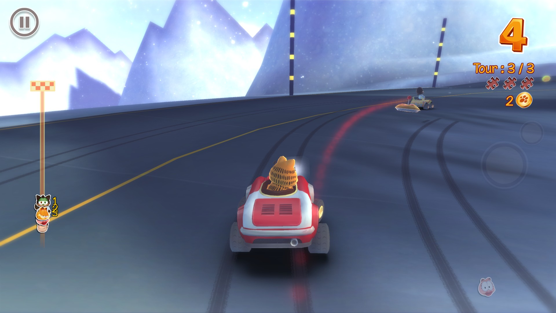 Claim Garfield Kart for free