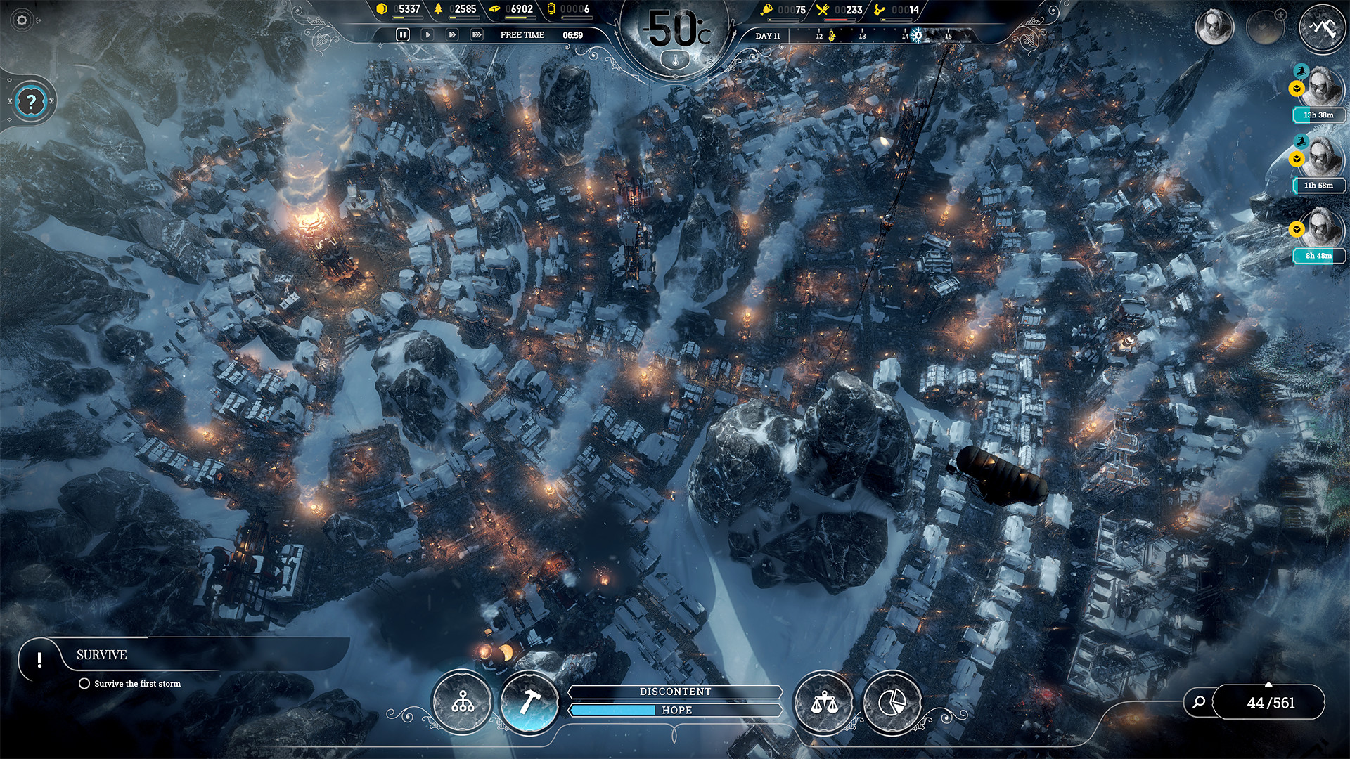 Claim Frostpunk for free