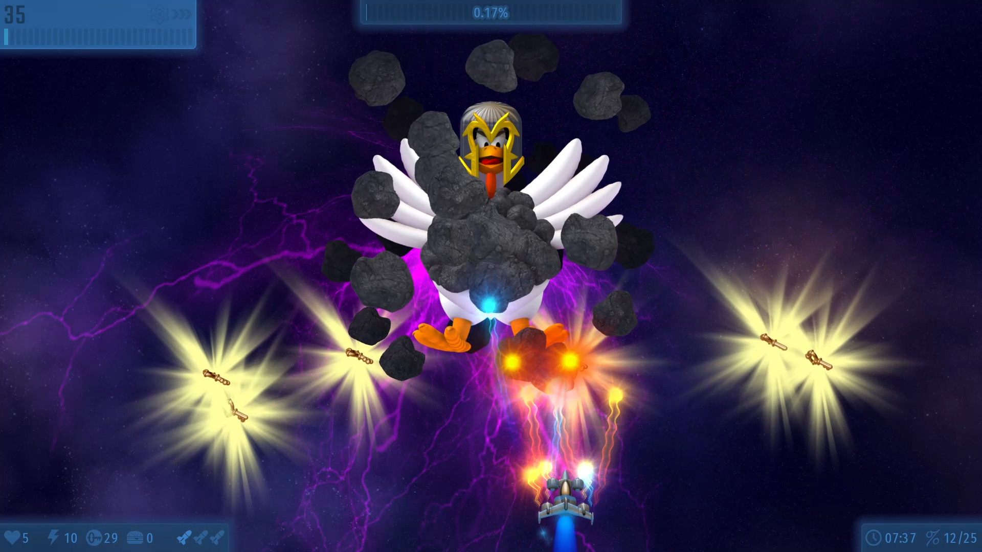 Claim Chicken Invaders Universe for free