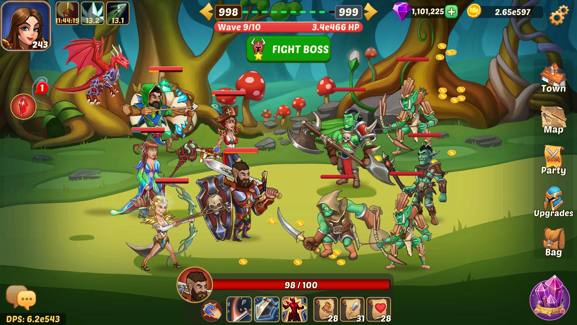 Claim Firestone Idle RPG for free