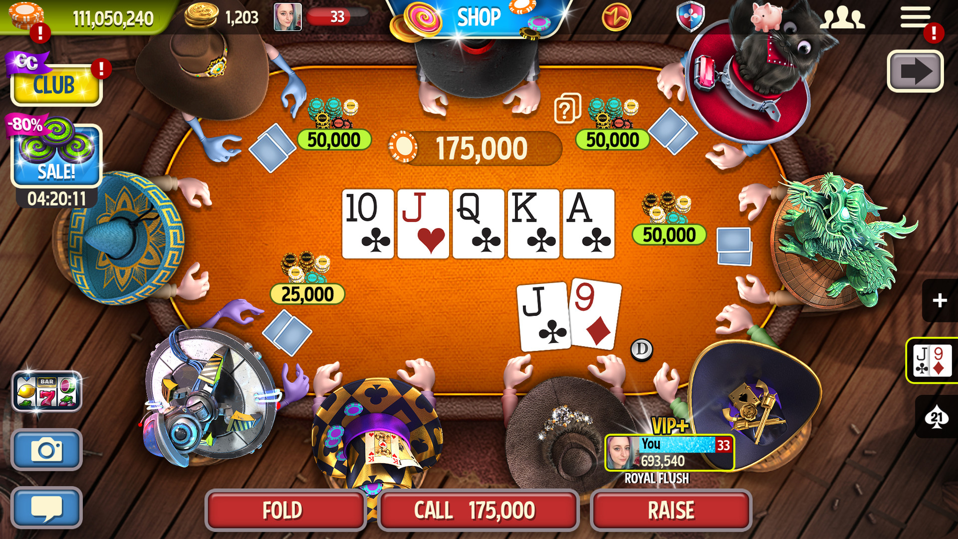 Claim Governor of Poker 3 for free