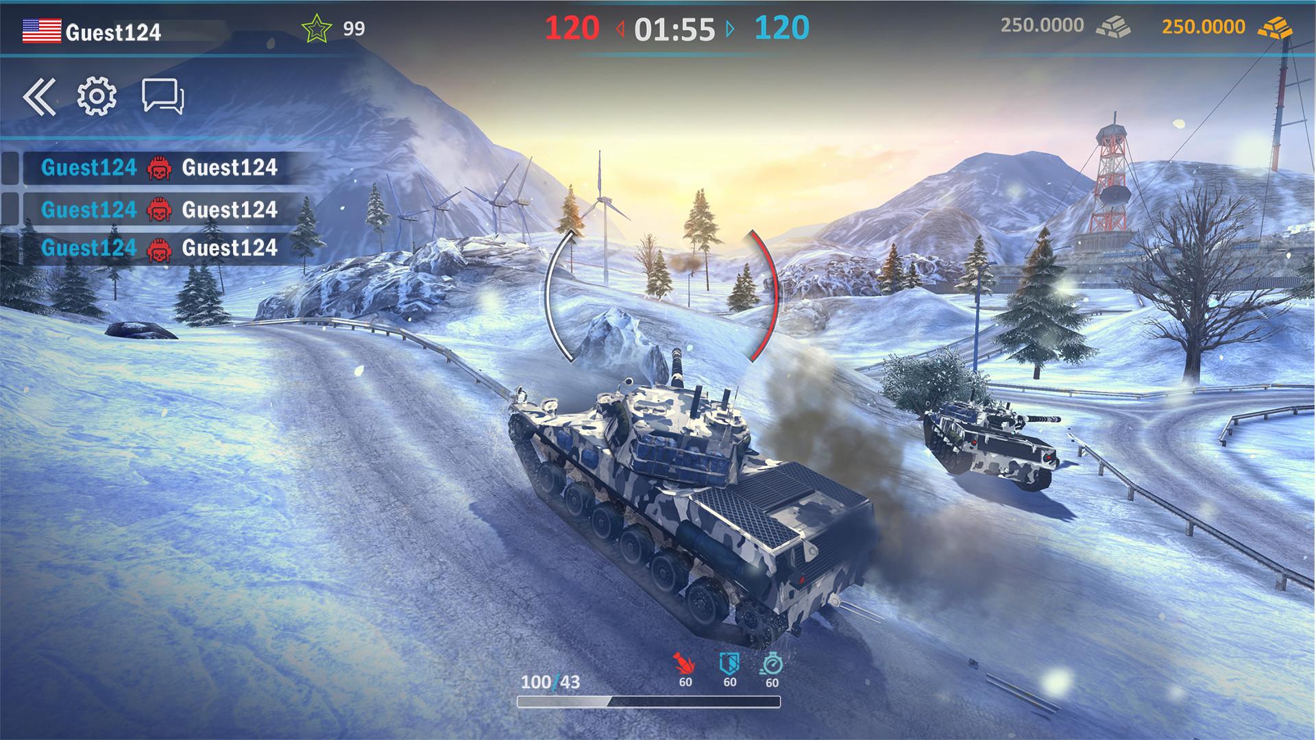 Claim Modern Assault Tanks for free